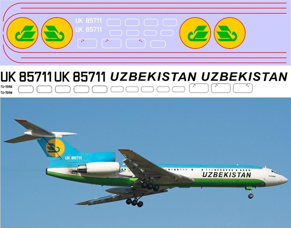 Ту-154М Узбекистан  1-144.jpg